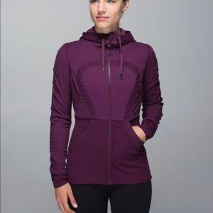 Lululemon Purple Dance Studio Jacket III